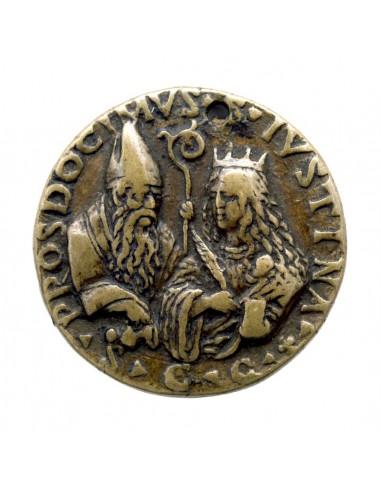 Padova - Medaglia di S. Giustina e S....