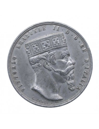 Vittorio Emanuele II - Medaglia 1878