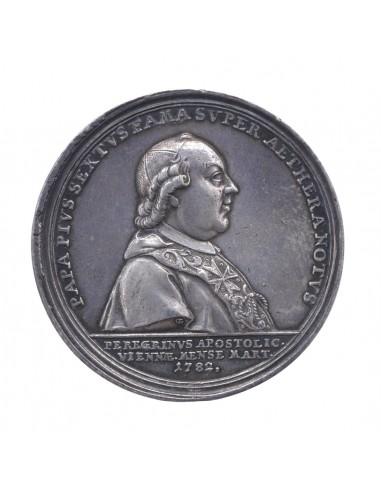 Pio VI - Medaglia 1782