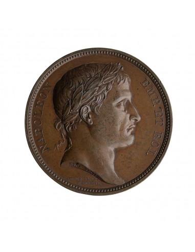 Napoleone I (1804 - 1814) - medaglia...