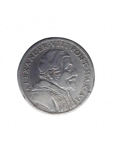 Alessandro VIII (1689-1691) - Testone...