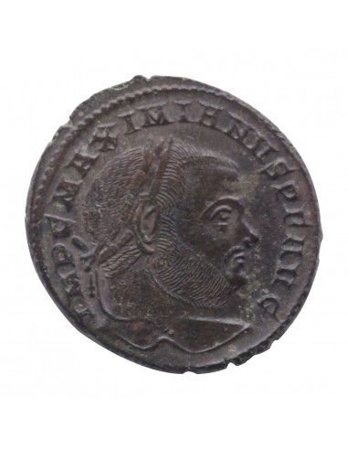 Massimiano - Follis (307-10 d.C.)...