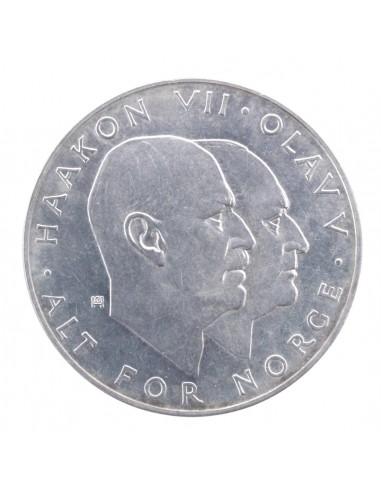 Norvegia - 25 Kroner 1970